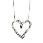 Heart Pendant with Chain